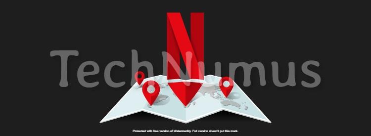 Change Netflix Region 1