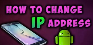 Change ip Address on Android Phone